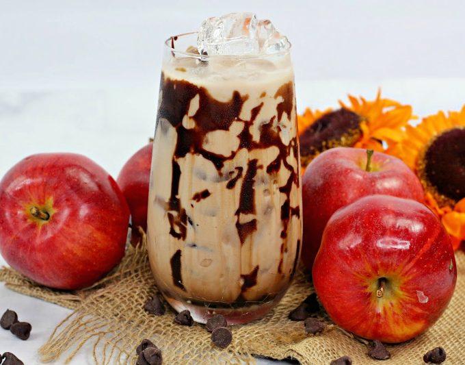 Chocolate Caramel Apple Cocktail