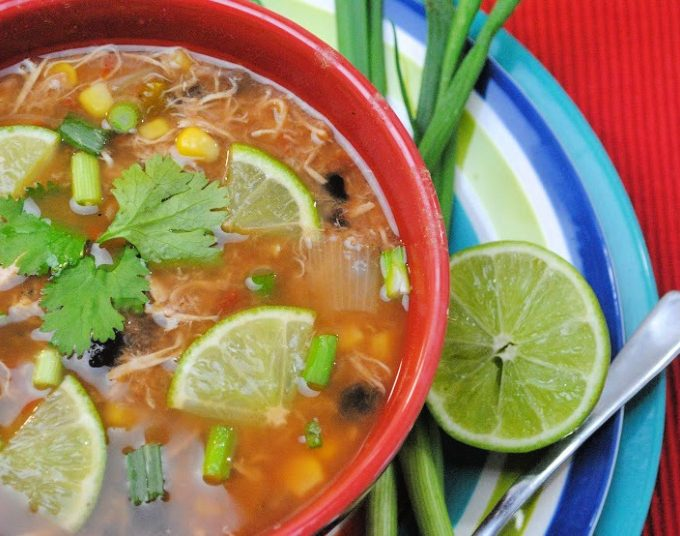 Slow Cooker Spanish Lime Soup - Sopa De Lima Recipe