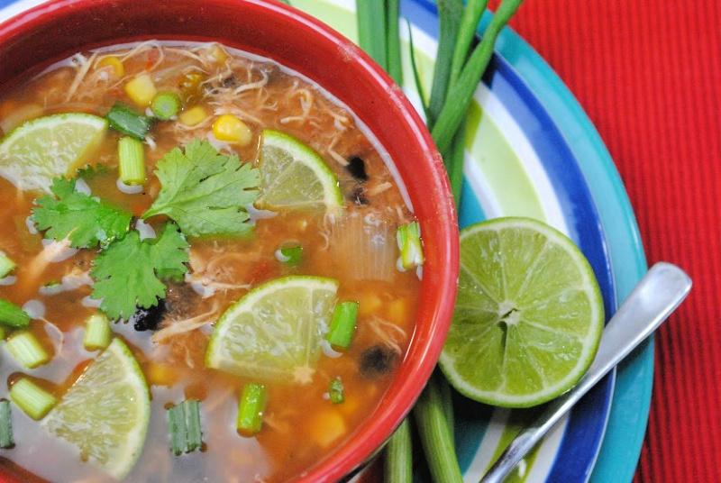 Slow Cooker Spanish Lime Soup - Sopa De Lima Recipe