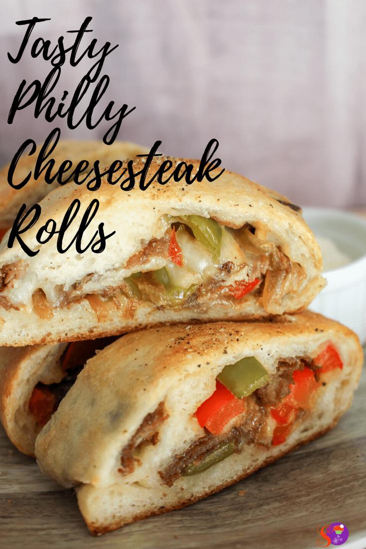 Philly Cheese steak Rolls