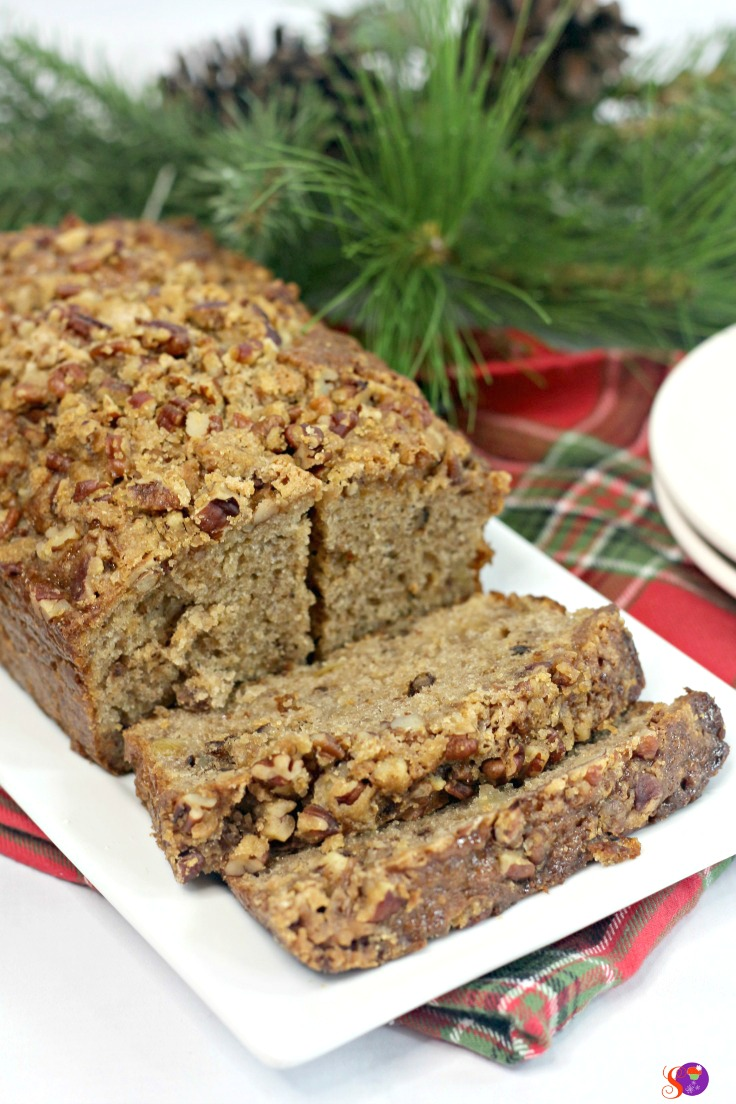 The sweet taste of fresh pear compliments the bold flavor of ginger perfectly in this soft and moist homemade Ginger Pear Bread recipe.