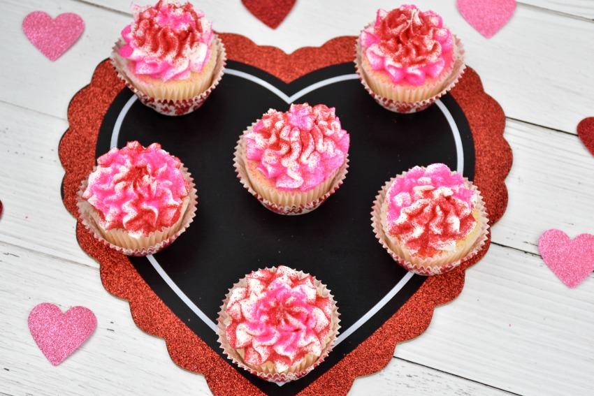 Valentine's Cupcakes – Rich, Moist Vanilla Cupcakes