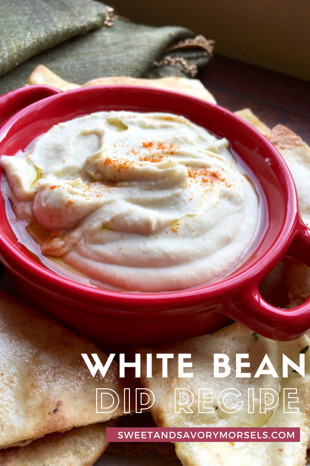 This smooth and creamy White Bean Dip calls for just a few simple ingredients, and it is ready in just 10 minutes! It's a deliciously healthy vegan dip perfect for snacking or for serving at parties!