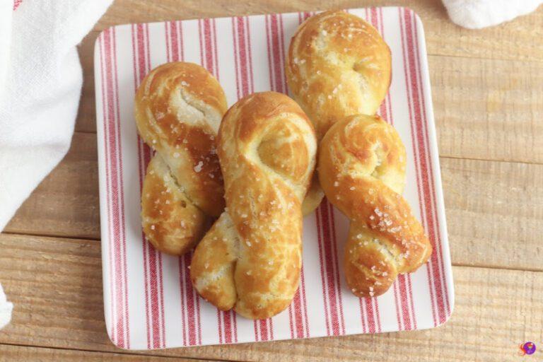 Soft Pretzel Knots Recipe