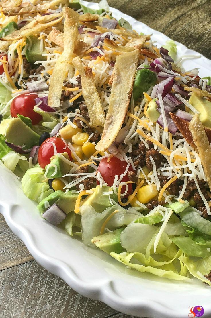 Beef Taco Salad Dinner Recipe