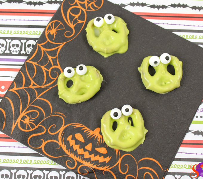 silly monster pretzels recipe