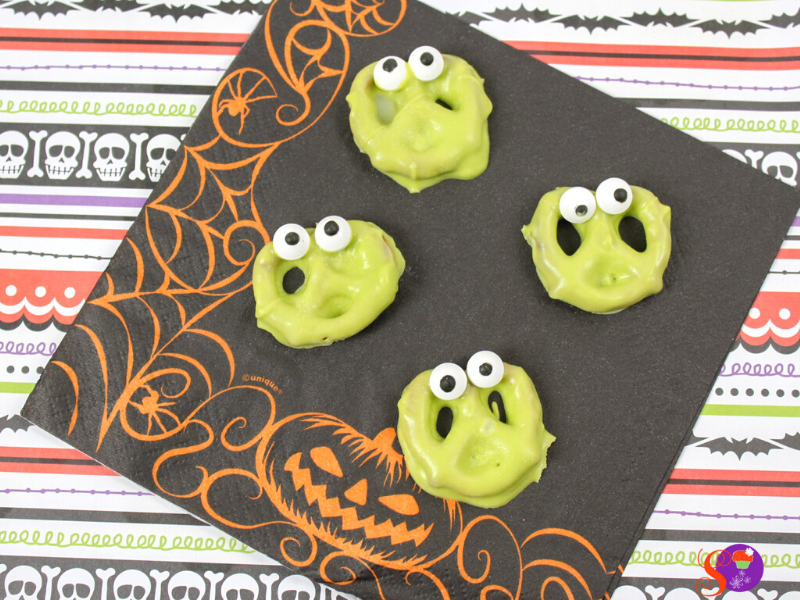 easy Silly Monster Pretzels