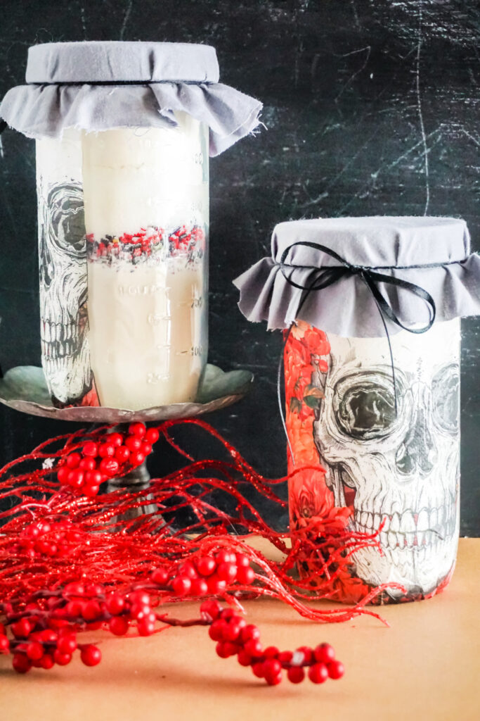 Skull Cookie Mix in a Jar